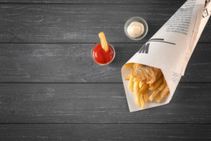 Fish and chip takeaways